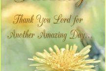 weekday greetings( blessings)