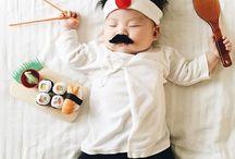 Konsept bebek fotoğraf
