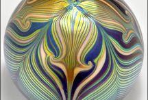 GLASS ART - PAPERWEIGHTS