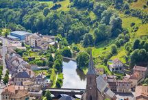 Auvergne, France - Allier, Cantal, Haute Loire and Puy de Dome / The Auvergne region of France which includes the Allier, Cantal, Haute Loire and Puy de Dome departments.
