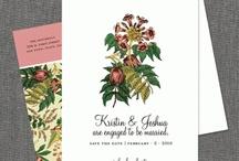 Wedding Stationary I LOVE / by Kate Jeter