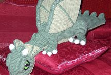 Dragon en crochet