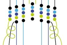 ai fili e fili di colori: