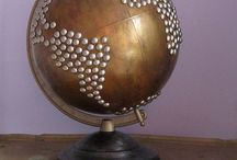 Globes and Maps / by Arlene Hunter