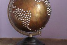 Globes and Maps / by Arlene Hunter