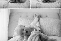 Fris geboren fotografie / Ideeën baby foto's