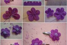 Hair clips/bows/flowers