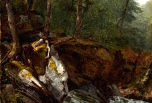 Inspiration - Forest interiors / Forest interiors by Asher Durand and other Hudson River School Painters