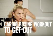 Cardio boxing workout