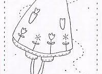 Stitchery / modelli e disegni per stitchery
