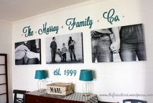 Wall Display Inspiration / by Rachel H