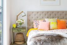 Home, Neutrals with Pops of Bright Color