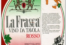 Vino de Tavola / Italië tabel wine / Etiketten van Italiaanse tafelwijnen / Labels of Italian table wines / Les étiquettes des vins de table Italiens / Labels der italienischen Tafelwein / Etiquetas de vino Italianas.