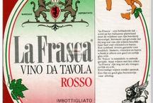 Vino de Tavola / Italië tabel wine / Etiketten van Italiaanse tafelwijnen / Labels of Italian table wines / Les étiquettes des vins de table Italiens / Labels der italienischen Tafelwein / Etiquetas de vino Italianas.