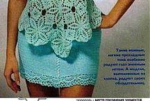 bluzki na szydełku