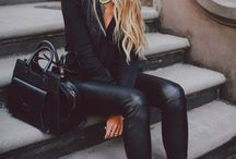 Black leather obsession