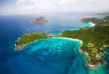 St. Barths, Firefly Collection / Pristine beaches, crystal clear turquoise waters, panoramic views, gourmet dining, watersports, luxury villas and hotels and ever popular with celebrities and VIP's - what is not to love about this paridisicial island in the Caribbean.