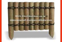 Bamboo Edging / Bamboo Edging