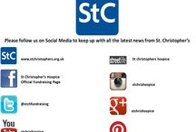 St. Christopher's Social Media / Follow us on Social Media!!!