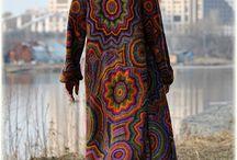 пальто-стёжка / одежда сложная по исполнению, авторская