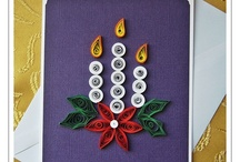 Candles quilling