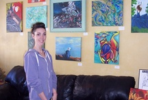 Featured Artists / by Living Room Coffee Shop & Vintage Decor