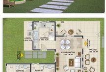 Planos para casas pequeñas