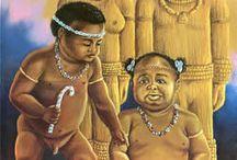 Òrixá Ibejí / Òrisá Africano