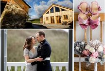 Laid back Winter wedding at our luxury venue in Bude, Cornwall, near Devon / Back in December, on a bright Winter's day Ailsa and Phil, along with the help of their two little girls tied the knot in front of all their friends and family!