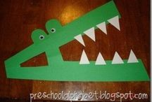 Kinder Alphabet Crafts
