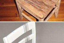 Decorazioni sedie e mobili