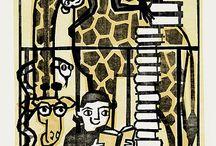 ex libris Cindy Woods (USA, 1956-2008)