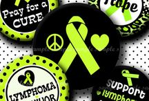 Lymphoma Awareness - I wear green for me! / It's been 2 years since my diagnosis of Non-Hodgkin lymphoma: Chronic Lymphocytic Leukemia,  but Jeremiah 29:11 continues to give me hope for a future.