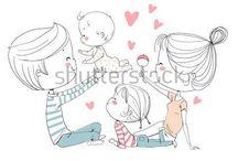 любовь, свадьба, семья