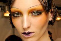 Creative catwalk makeup
