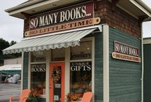 Bookshops Galore / Some of our favorite unique bookshops