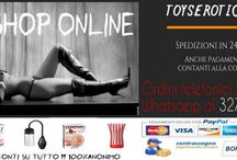 ARTICOLI EROTICI / Articoli erotici shop online