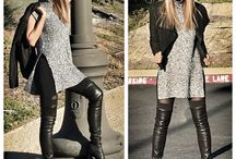 7 days, 7 outfits , 1 leather boots