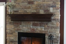 Fireplace remodel ideas / by Lindsey Irwin