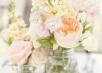 Bloemendecoratie bruiloft