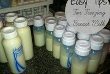 storage breastmilk