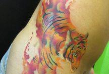 Tiger tattoo fix