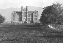 Utah Colleges / You can also visit http://collegehistorygarden.blogspot.com/ for more information.