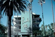 vintage los angeles | iconic hotels / iconic los angeles hotels from the 1920's - 1970's.
