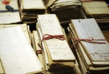 What does an archivist do? / Pins explaining the many functions and challenges of archivists