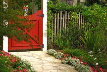 Fences and Gates / Decorative garden gates