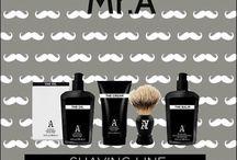 Línea de afeitado Mr.A / Pack Afeitado ICON Mr A. The Shave + Brocha especial