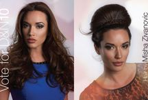 TEAM DONATO IN THE DAY TO NIGHT RACE - MIRROR AWARDS / DAY TO NIGHT entries by Team Donato Salon + Spa for the MIRROR AWARDS.  Please vote for your favourite ones at http://canhair.com/  #mirrorawards #CanHair #daytonight / by Donato Salon + Spa