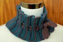 Knitting et crochetting