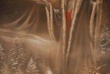 Epic fantasy / Libros de espada y brujería personajes épicos y fantásticos.... / by David Ruiz Rodrigo